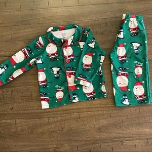 Santa jammies